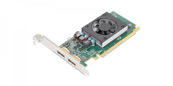 Lenovo AMD Radeon 520 2GB GDDR5 Dual-DP-Grafikkarte HP 4X60Y70139 | wunderow IT GmbH | lap4worx.de