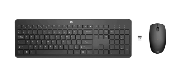 HP 235 Wireless Maus und Tastatur | wunderow IT GmbH | lap4worx.de