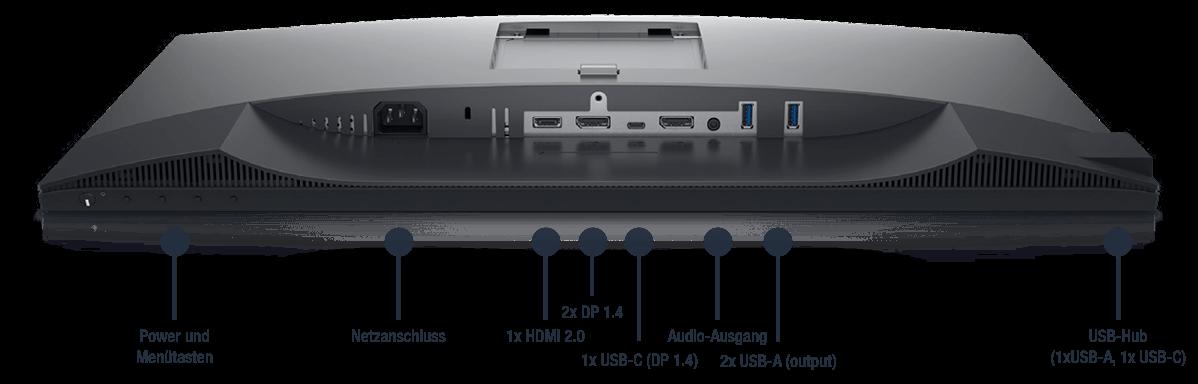 Dell-UltraSharp-U2520D-Anschlusse