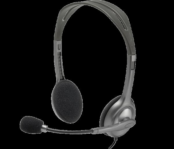 Logitech H110 STEREO HEADSET 981-000271 | wunderow IT GmbH | lap4worx.de