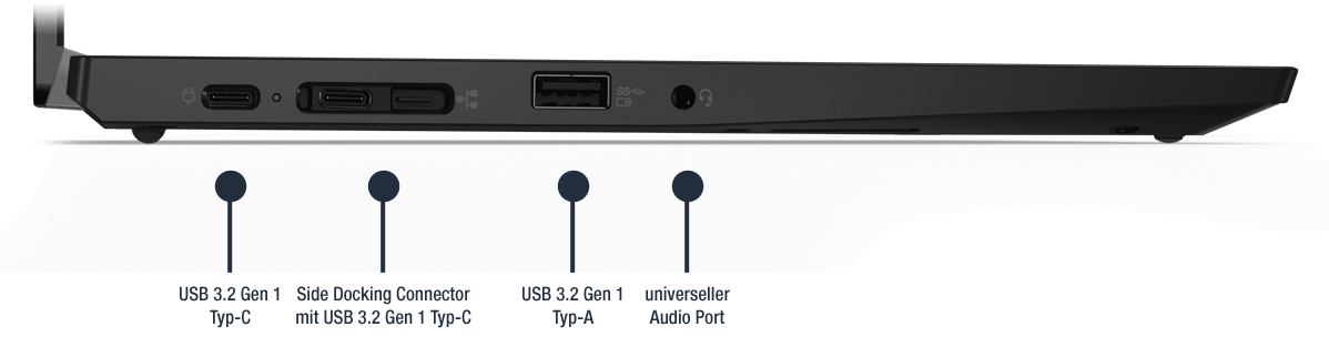 Lenovo-ThinkPad-L13-Gen-2-AMD-Anschlusse-Links