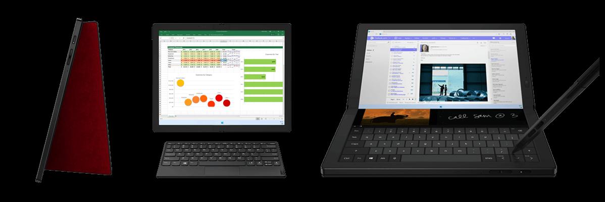 Lenovo ThinkPad X1 Fold Gen 1 Nutzungsmöglichkeiten