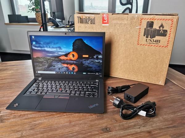 Lenovo ThinkPad T495 20NJCTO1WW AMD Ryzen 7 PRO 3700U 16GB RAM 256GB SSD Full-HD IPS W10P