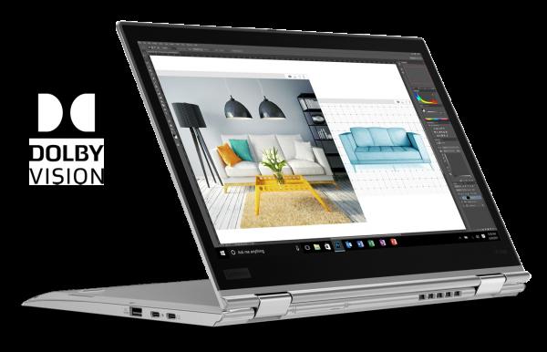 Lenovo ThinkPad X1 Yoga (3rd Gen) 2018 HDR Silber