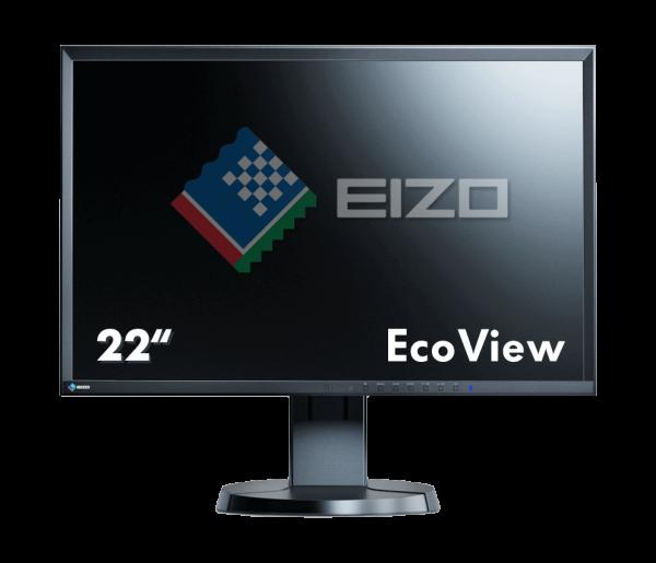 EIZO FlexScan 55.9cm (22 Zoll) EV2216WFS3-BK | wunderow IT GmbH | lap4worx.de