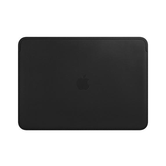 """Apple Lederhülle für 13"""" MacBook Air und MacBook Pro Schwarz MTEH2ZM/A"""