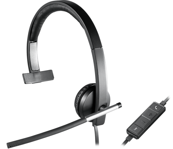 Logitech H650E HEADSET Mono 981-000514 | wunderow IT GmbH | lap4worx.de