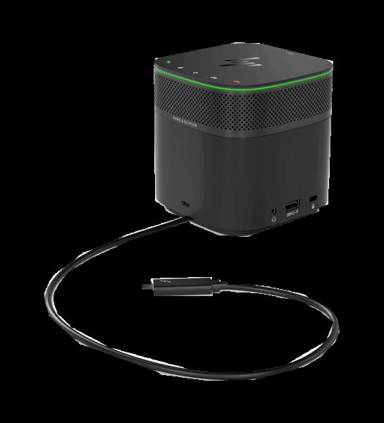HP Thunderbolt-Dockingstation G2 mit Audio, 120 W 3YE87AA | wunderow IT GmbH | lap4worx.de