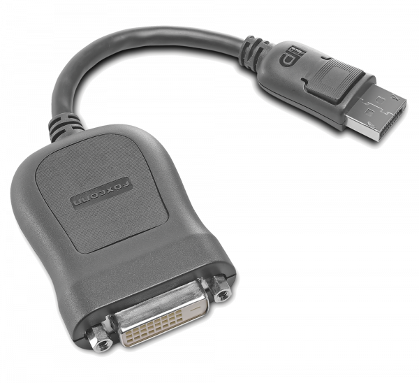 Lenovo DisplayPort zu Single-Link DVI-D Monitor Kabel 45J7915 | wunderow IT GmbH