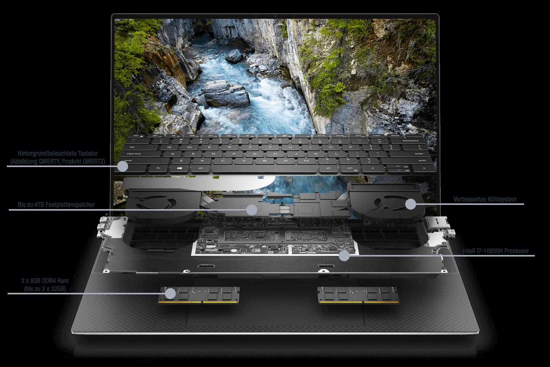 Dell-Precision-5550-Aufbau-10850H