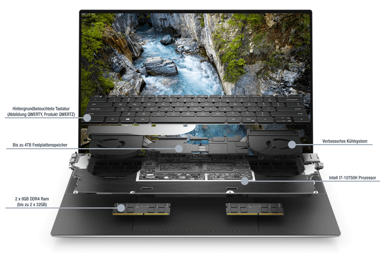 Dell-Precision-Aufbau