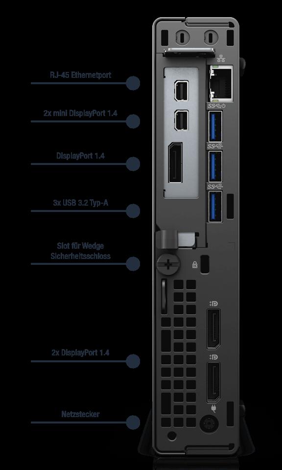 Dell-Optiplex-7090-MFF-Anschlusse-dediziert